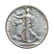1938 P Walking Liberty Half Dollar - Gem BU / MS / UNC - $67.00