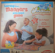 Playskool Noodleboro LEARNING ABOUT MANNERS PICNIC BASKET GAME-CD,Book P... - $14.00