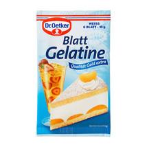 Dr.Oetker Blatt Gelatine -Gelatin Leaves - Pack... - $1.97