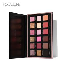 FOCALLURE Pro 18 Colors Glitter Matte Easy to Wear Warm Smokey Eye Shado... - $15.92