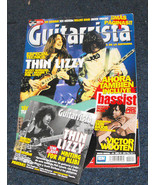 Thin Lizzy Joe Satriani rollins guittarista magazine with cd - $19.99