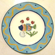 "MIKASA Fashion ""Ocean Collage"" DX102 Dinner Large Serving Plate 10 7/8"" - $24.99"