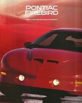 1996 Pontiac FIREBIRD brochure catalog TRANS AM FORMULA 96 - $9.00