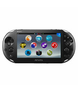 Sony PlayStation PS Vita 3G/Wi-Fi Crystal Black Handheld Console PCH-110... - $237.41