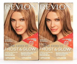 2 Boxes Revlon Color Effects Frost & Glow Honey All In One Easy Highligh... - $25.99