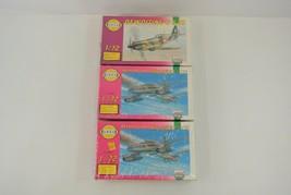 Smer Dewoitine D-520 & Messerschmitt Me-262 Lot of 3 Plastic Model Kits ... - $24.00