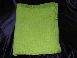 "KOALA BABY BLANKET SAGE GREEN NUBBY SHERPA THICK HEAVYWEIGHT HEAVY 40"" X... - $29.29"