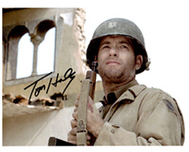 TOM HANKS  Authentic Original  SIGNED AUTOGRAPHED PHOTO w/ COA 490 - $105.00