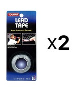Tourna Lead Tape Tennis Racquet Racket Tape Golf Club 1/4 Inch by 72 Inch - $9.80