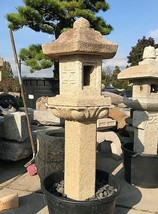 Rokkaku Ikekomi Ishidōrō, Japanese Stone Lantern - YO01010126 - $2,873.87