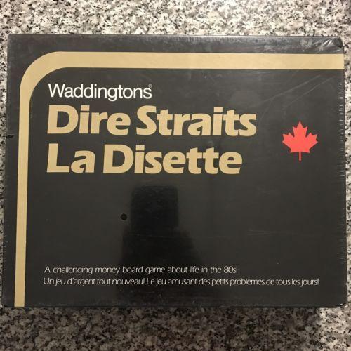 Waddingtons Dire Straits Las Disette Vintage Board Game