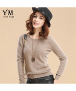 YuooMuoo High Quality Cashmere Sweater Women Winter Pullover Solid Knitt... - $28.90