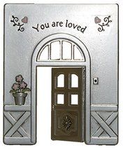 Gnz Doorway Of Life Inspirational Zinc Figurine -You Are Loved - £7.58 GBP