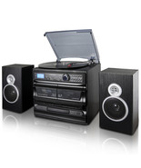 Trexonic 3-Speed Vinyl Turntable Home Stereo System with CD Player, Dual... - $148.27