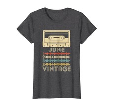 Funny Shirts - Vintage Retro Made In June 1952 66th Birthday Gift 66 yea... - $19.95+