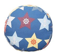 Floor Pillow - 15.7 inch Round - Star Pattern - Cotton Thicken + Lovely Cloth - $29.91