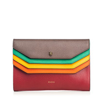 Pre-Loved Gucci Brown Others Leather Totem Clutch Italy - $791.41