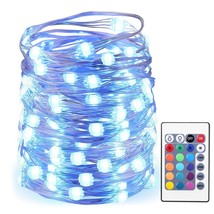 AMIR LED String Lights, 50 LED/16.4ft With Battery Operated Remote Contr... - €11,55 EUR