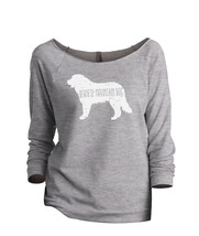 Thread Tank Bernese Mountain Dog Silhouette Women's Slouchy 3/4 Sleeves ... - $24.99+