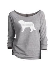 Thread Tank Bernese Mountain Dog Silhouette Women's Slouchy 3/4 Sleeves ... - $24.99+