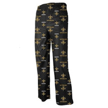 Boy's 4-8 New Orleans Saints Pajama Pants NFL Lounge Sleep Bottoms
