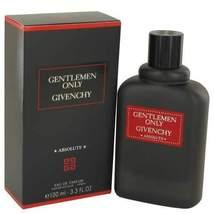 Gentlemen Only Absolute by Givenchy Eau De Parfum Spray 3.3 oz (Men) - $122.50