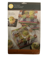 Spideweb Halloween Cupcake Boxes 3 ct from Wilton #0013-SHIPS SAME BUSIN... - $8.70