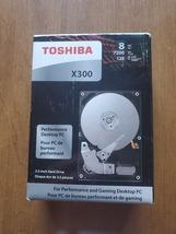 Toshiba X300 8TB Hard drive 7200 RPM 128MB buffer - $350.00