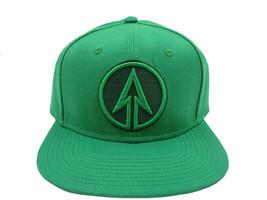DC Comics Green Arrow Logo Solid Green Snapback - $12.86