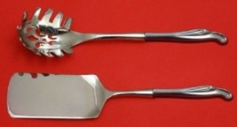 Silver Surf By Stieff Sterling Silver Italian Serving Set HHWS 2pc Custom - $75.05