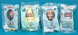 "McDonald's Madame Alexander 4 Mini 5"" Dolls Storybook New In Package Lot C - $14.95"