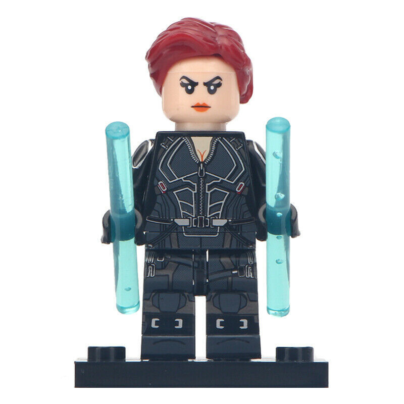Black Widow (Black suit) Marvel Avengers Endgame Lego ...