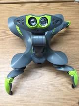 WowWee Robotics ROBOQUAD Grey Neon Green Alien Spider Crab Bot WORKS NO ... - $35.00