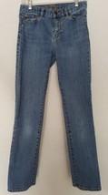 Women's Lauren Jeans Co. Ralph Lauren Blue Jeans Sz 2 Classic Straight - $14.01