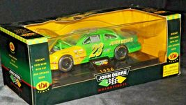 Bank Diecast with Key 1996 John Deere #23 Green Stock Car - 1:24 Scale with Box  image 3