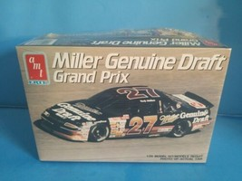 AMT ERTL PONTIAC GRAND PRIX #27 RUSTY WALLACE MILLER GENUINE DRAFT NEW - $18.69