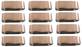 Daily Line by Villeroy & Boch Stainless Steel Napkin Ring Set of 12 New Flatware - $119.00