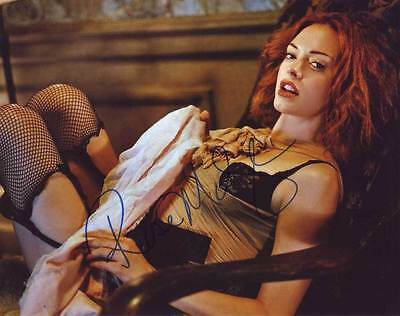 Primary image for Rose McGowan AUTHENTIC Autographed Photo COA SHA #18251