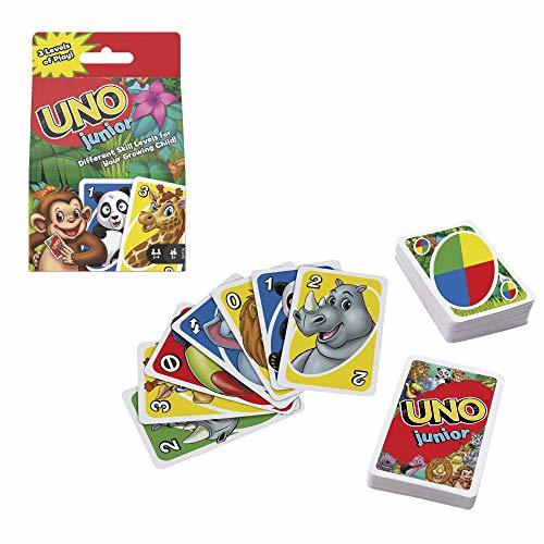 Mattel Games UNO Junior Card Game with 45 Cards, Gift for Kids 3 Years Old & Up - $9.90