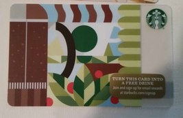 Starbucks Gift Card - NEW - COFFEE PRESS 2015 HOLIDAY 48 SERIES - $1.75