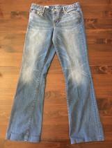 Gap 1969 Perfect Boot 31XL Womens Denim Jeans Light Wash hemmed 32x33 - $18.50