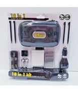 Safari 18 in 1 Essentials Starter Kit Case Stylus for Nintendo DS Lite &... - $14.03