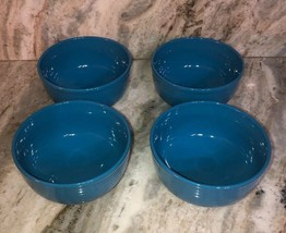 Royal Norfolk Light Blue CEREAL/SERVING Bowl Set Of 4-Micro Safe-NEW-RARE-SHIP24 - $48.88