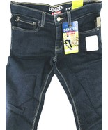 Levis Denizen Jeans 216 Boys 14 Stretch Skinny Fit Regular Dark Blue SOF... - $18.95