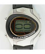 Harley Davidson Vintage Unworn Digital Alarm Chrno Day Date Very Rare Wa... - $246.36