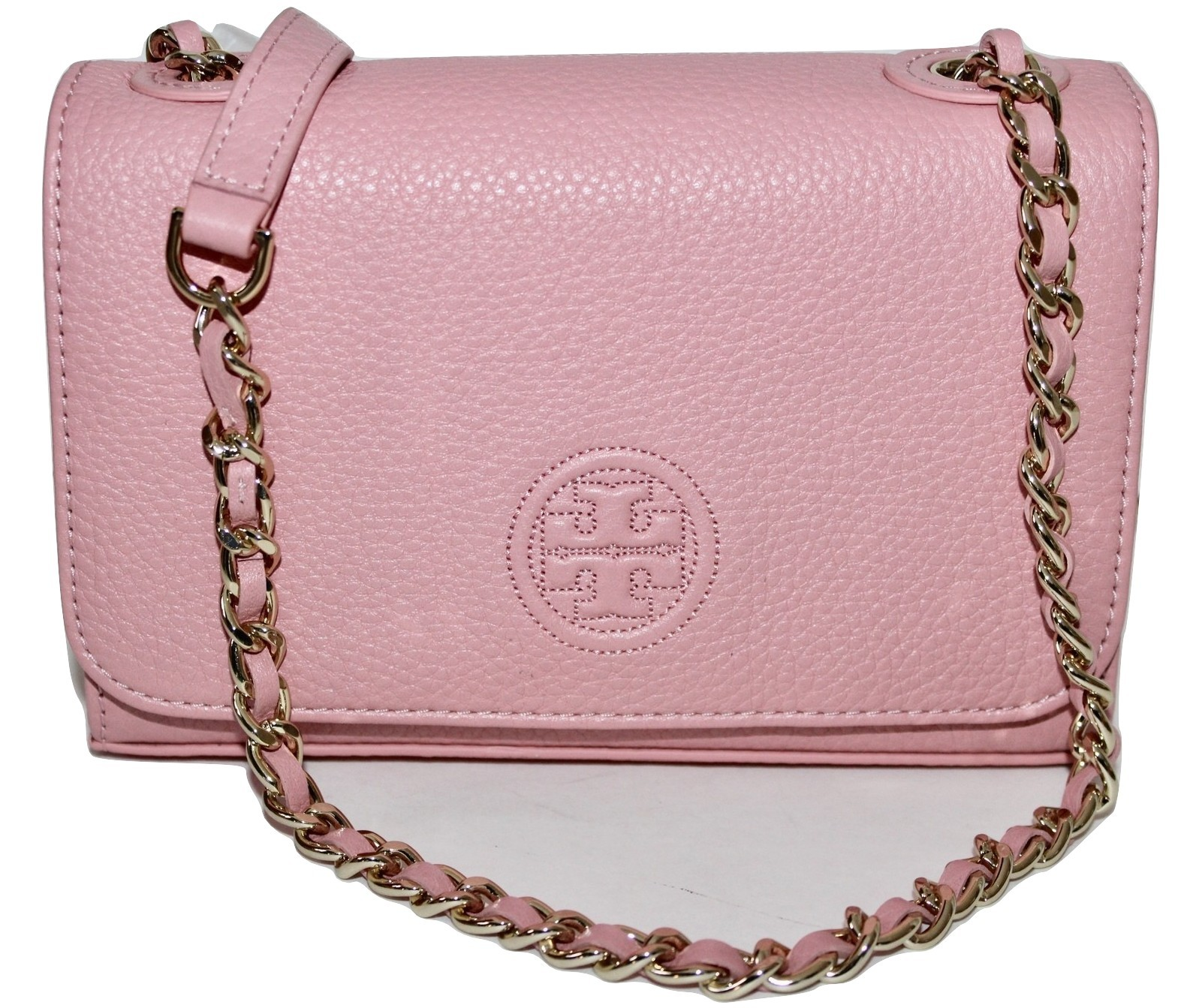 Img 6920756657 1541515321. Img 6920756657 1541515321. Previous. New Tory  Burch Bombe Shrunken Dark Cameo Pink Leather 50fedb905ce7a