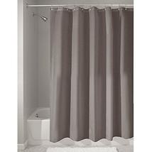 "InterDesign Mildew-Free Water-Repellent Fabric Shower Curtain, Long, 72"" x 84"",  - $18.97"