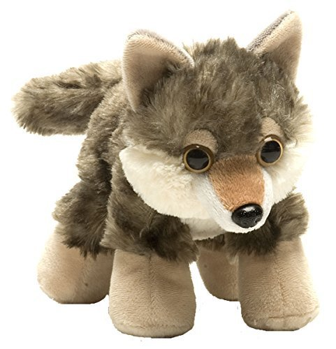 Hug'ems Wolf 7 Inch Plush #cdd