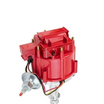 64 65 66 67 68 FORD MUSTANG STRAIGHT 6 CYL 170 200 HEI DISTRIBUTOR Red image 2