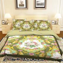 3D Flowers 1061 Bed Pillowcases Quilt Duvet Cover Set Single Queen King Size AU - $64.32+